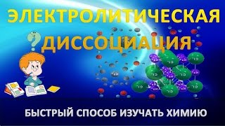 Уроки по химии. Электролитическая диссоциация