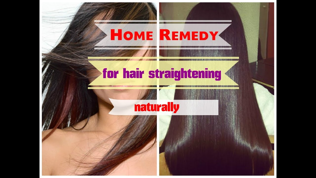 Charming DIY How To Get Straight Hair Naturally At Home Homemade Hair Straightener