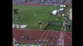 Medallas Olímpicas españolas del atletismo