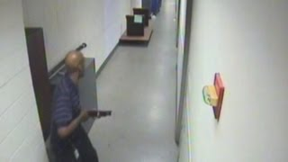 Chilling video of Washington Navy Yard shooter Aaron Alexis brandishing a shotgun