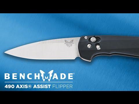 Benchmade 490S Arcane video_1