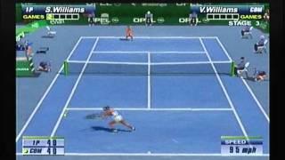 Serena Williams vs Venus Williams SEGA SPORTS TENNIS