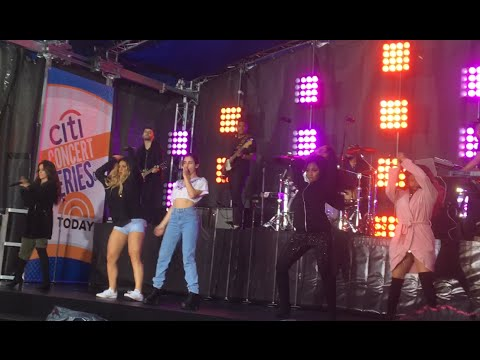 Fifth Harmony - Work From Home (Today Show Live Soundcheck)