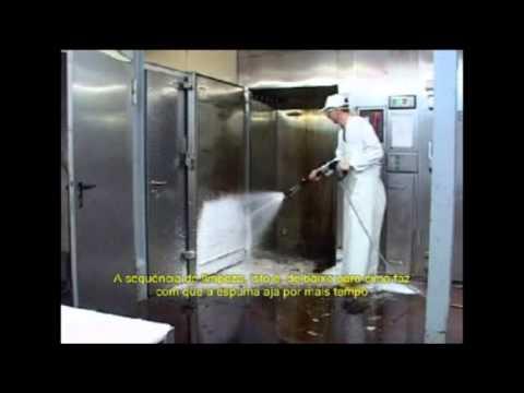 Karcher - Lavadoras de Alta Pressão - Limpeza em Indústria de Alimentos