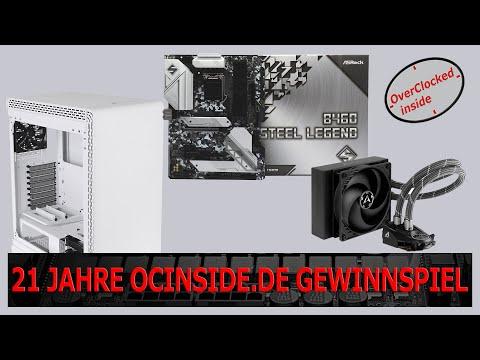 21 Jahre OCinside.de Gewinnspiel