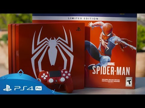 marvel's-spider-man-|-limited-edition-ps4-pro-unboxing