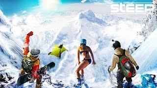 STEEP: TEAM GO PRO!! - Steep Wingsuit, Skying & Snowboarding - Steep Multiplayer Gameplay