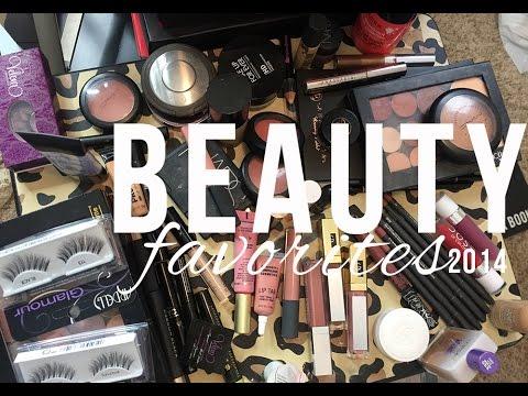 2014 Beauty Favorites.