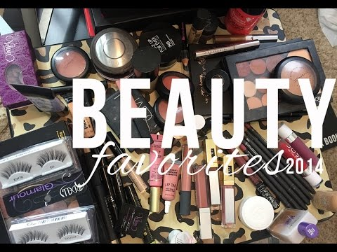 2014 Beauty Favorites.