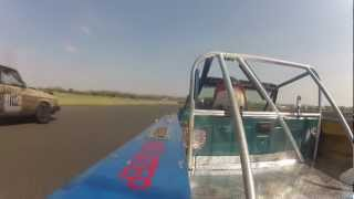 A few laps with Chris at the 2012 Real Hoopties of NJ at NJMP