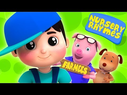 Farmees Cartoons For Toddlers | Nursery Rhymes | Live Stream