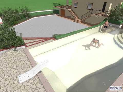 RS Piscine GROUP Progettazione 3D Piscina Privata