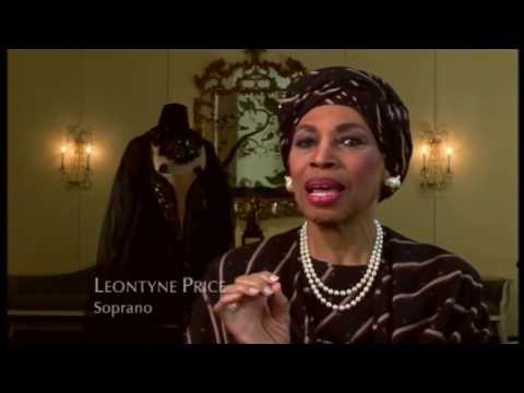 Dame Kiri Te Kanawa talking about Leontyne Price