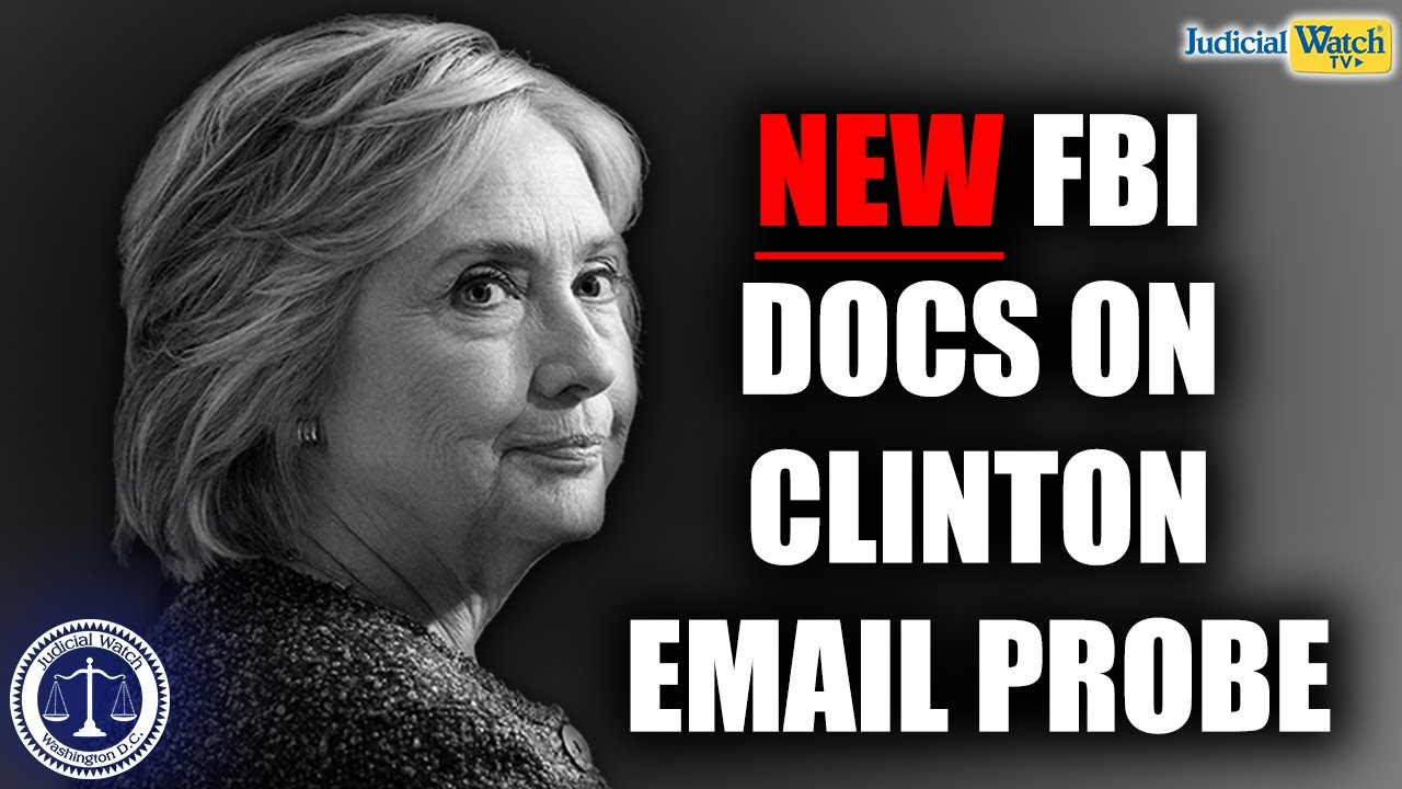 Tom Fitton: FBI 302s Reveal Inaccuracies, Corruption in FBI Investigation into Clinton Email Scandal