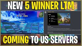 *NEW* Fortnite: LEAKED 5 WINNER LTM ON CHINESE SERVERS! | (Exclusive LTM Coming to US?)
