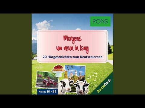 PONS Hörbuch Deutsch als Fremdsprache. Morgens um neun in Isny YouTube Hörbuch Trailer auf Deutsch