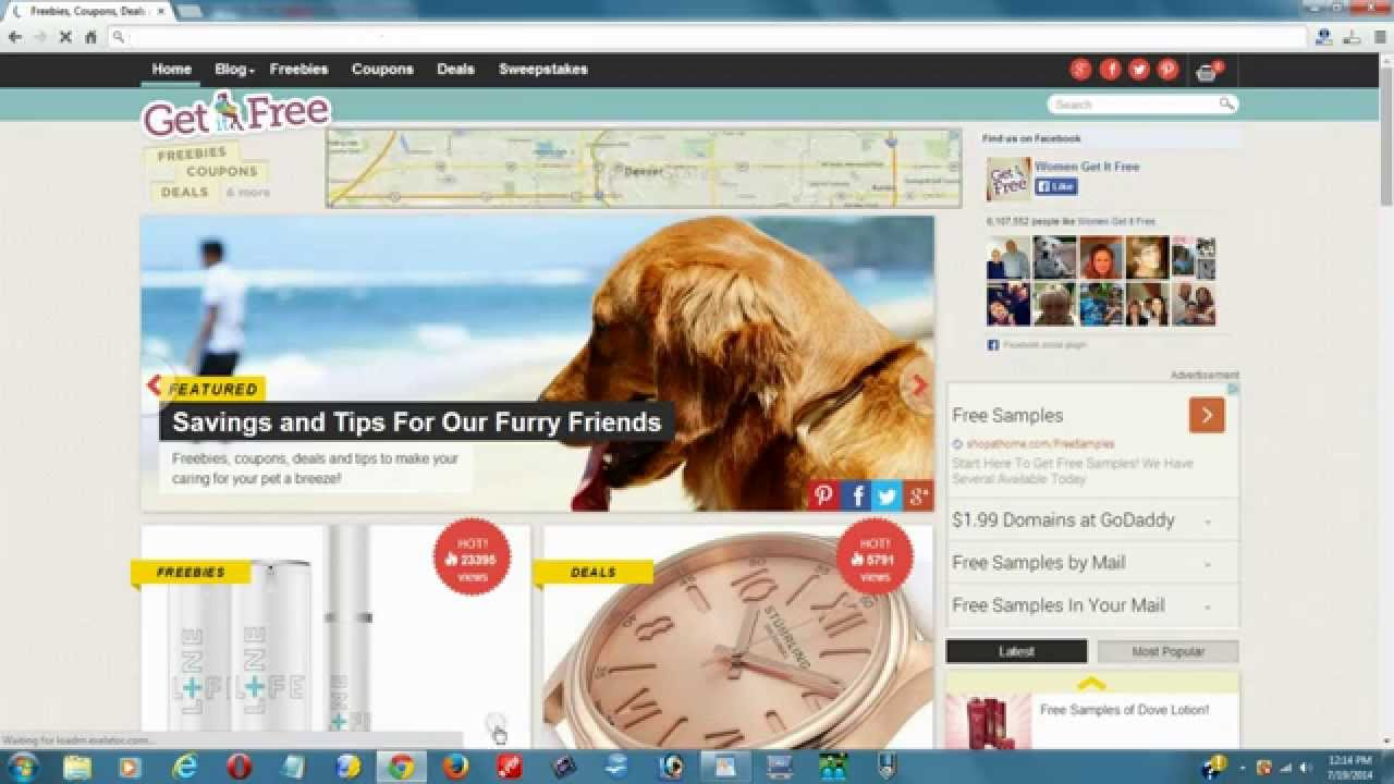 The Top 10 Best Free Sample By Mail Websites For 2014 - Free ...