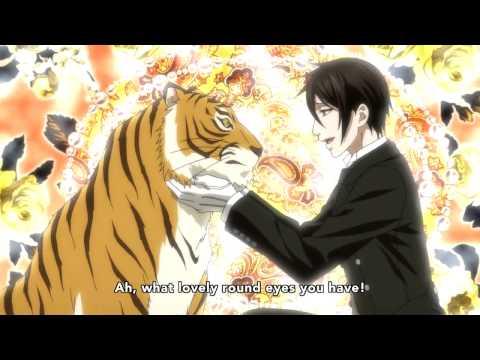 Kuroshitsuji III Sebastian and Betty (Tiger)