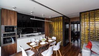 видео Светлые кухни в современном стиле –