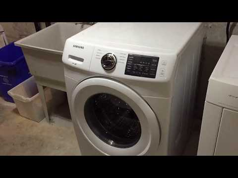 HOW TO: Clean Filter/Get Rid of Stinky Smell on Samsung Front Load Washer