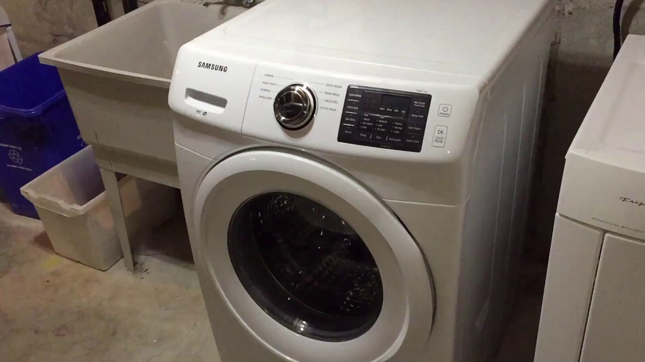 how to clean sumsung washer