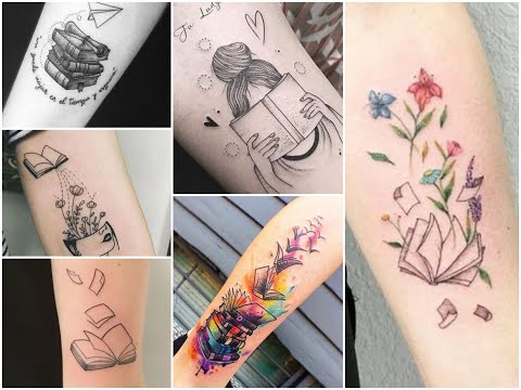 50+ Creative Books Tattoo Design Ideas