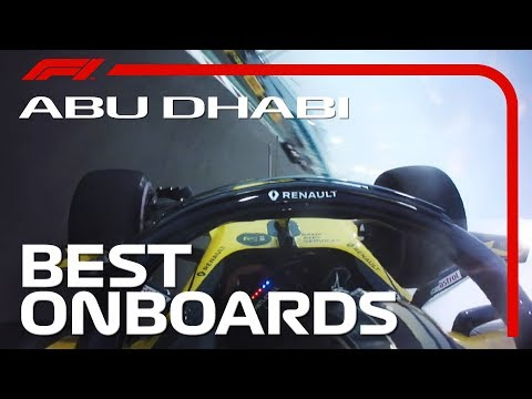 Alonso's Special Farewell + All The Best Onboards | 2018 Abu Dhabi Grand Prix