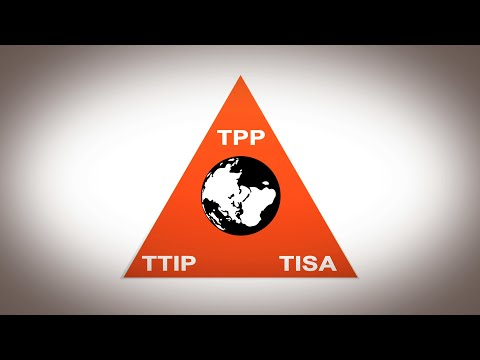 WikiLeaks - The US strategy to create a new global legal and economic system:  TPP, TTIP, TISA.