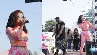 Yo Yo Honey Singh and Neha kakkar Live Show at ## Holi ##