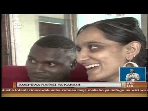Kijana Timothy Khamala Hatimaye Ameajiriwa Kazi Na Mwakilishi Wa Wodi Ya Maraka