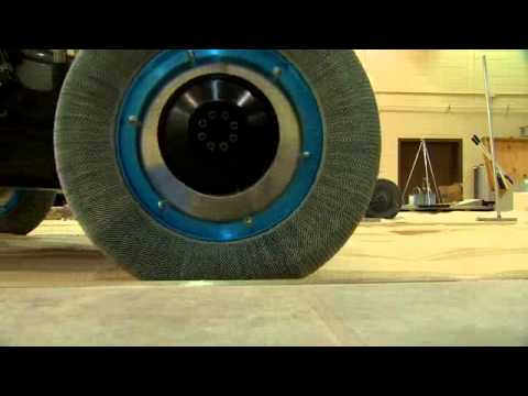 Goodyear MoonTire - Spring tire technology