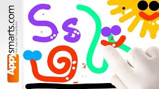 Learn ABC - fun preschool video part 4 (letters S to Z)