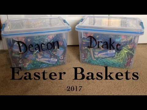 Easter Baskets 2017