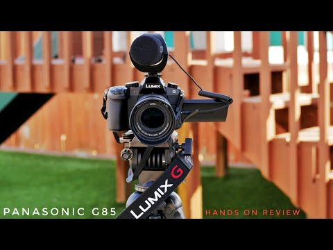 Panasonic Lumix G85/G80 Hands on Review 4k   A Great Camera 📷