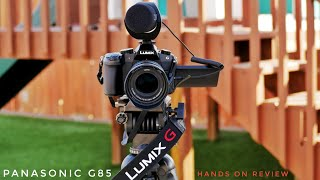 Panasonic Lumix G85/G80 Hands on Review 4k | A Great Camera 📷