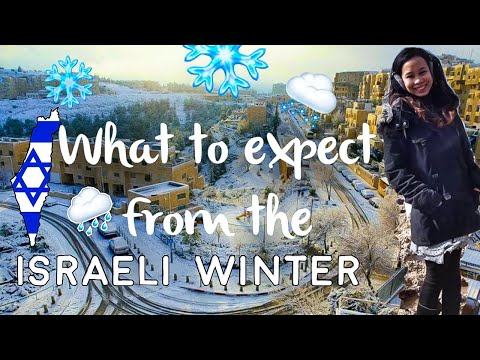 WHAT TO EXPECT FROM THE ISRAELI WINTER?! 🇮🇱 | Yohanna Tal