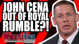 John Cena OUT Of WWE Royal Rumble 2019?! Wardrobe Malfunction On RAW! | WrestleTalk News Jan. 2019