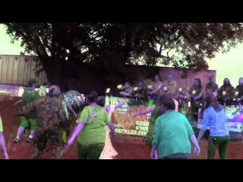 Undead Paintball Television Commercial haunt halloween zombie