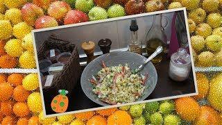 №28. Салат с перцем и китайской капустой