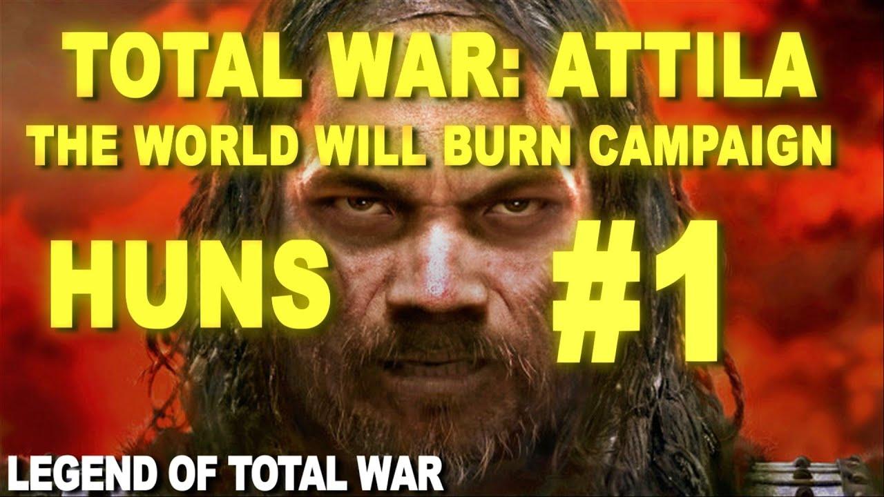total war attila first look legendary huns 1 youtube
