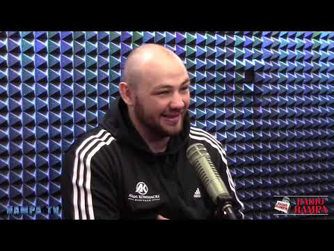 Adam Kownacki before the fight with Gerald Washington - Radio RAMPA