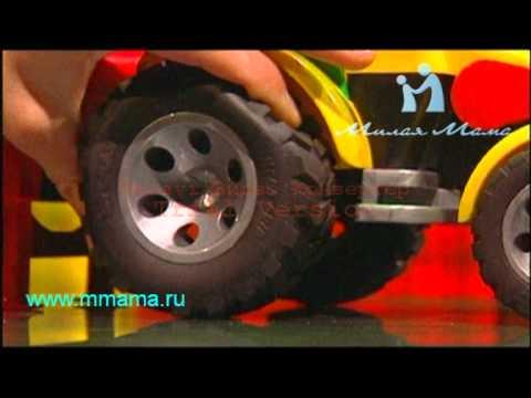 Экскаватор- погрузчик колёсный JCB - Bruder