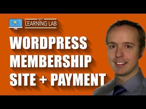 WordPress Membership Plugin To Create A Complete Membership Site Including Stripe Payments
