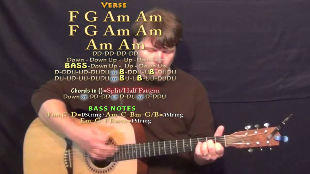 Lead On Phillip Phillips Guitar Lesson Chord Chart Youtube