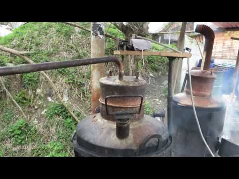 Making authentic homemade Palinka in Borsa, Maramures, Romania Part 2