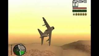 GTA San Andreas Hydra Dogfight