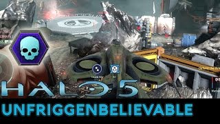 Halo 5: Guardians - 46-0 Unfriggenbelievable on Prospect with Pistol/Wasp/Temple Ghost/Banshee Ultra