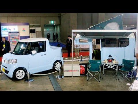 Honda N-Truck And N-Camp Concepts   The Kei Car Camping