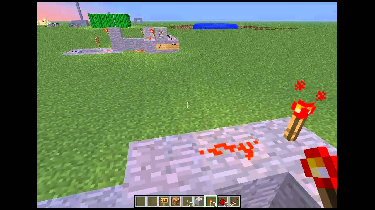 Redstone Wiring Transistor Youtube For Dummies