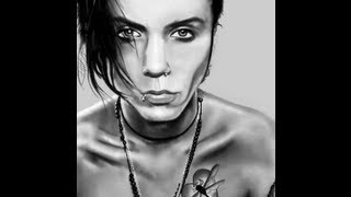 Speed Drawing of Andy Biersack